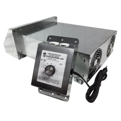 Xchanger 12 in. 2-Speed Reversible Basement Fan with Automatic Humidity Controller