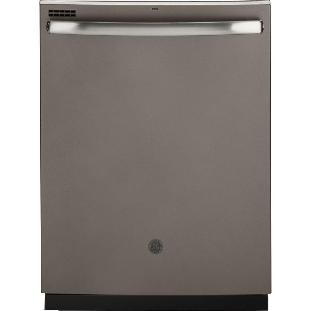 GE Top Control Tall Tub Dishwasher in Slate with Steam Cleaning, Finrprint Resistant and ENERGY STAR, 54 dBA, Fingerprint Resistant Slate was $609.0 now $398.0 (35.0% off)