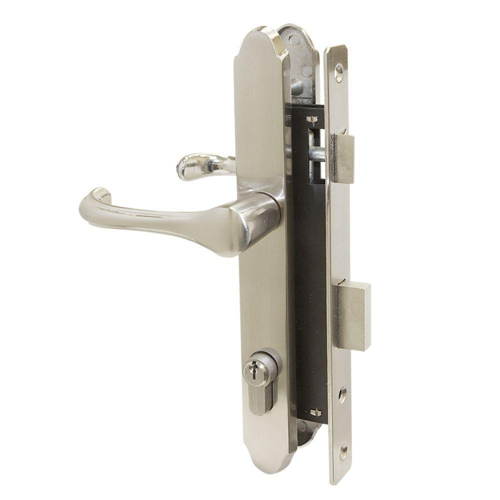 Unique Home Designs Slimline Mortise Lockset - Nickel