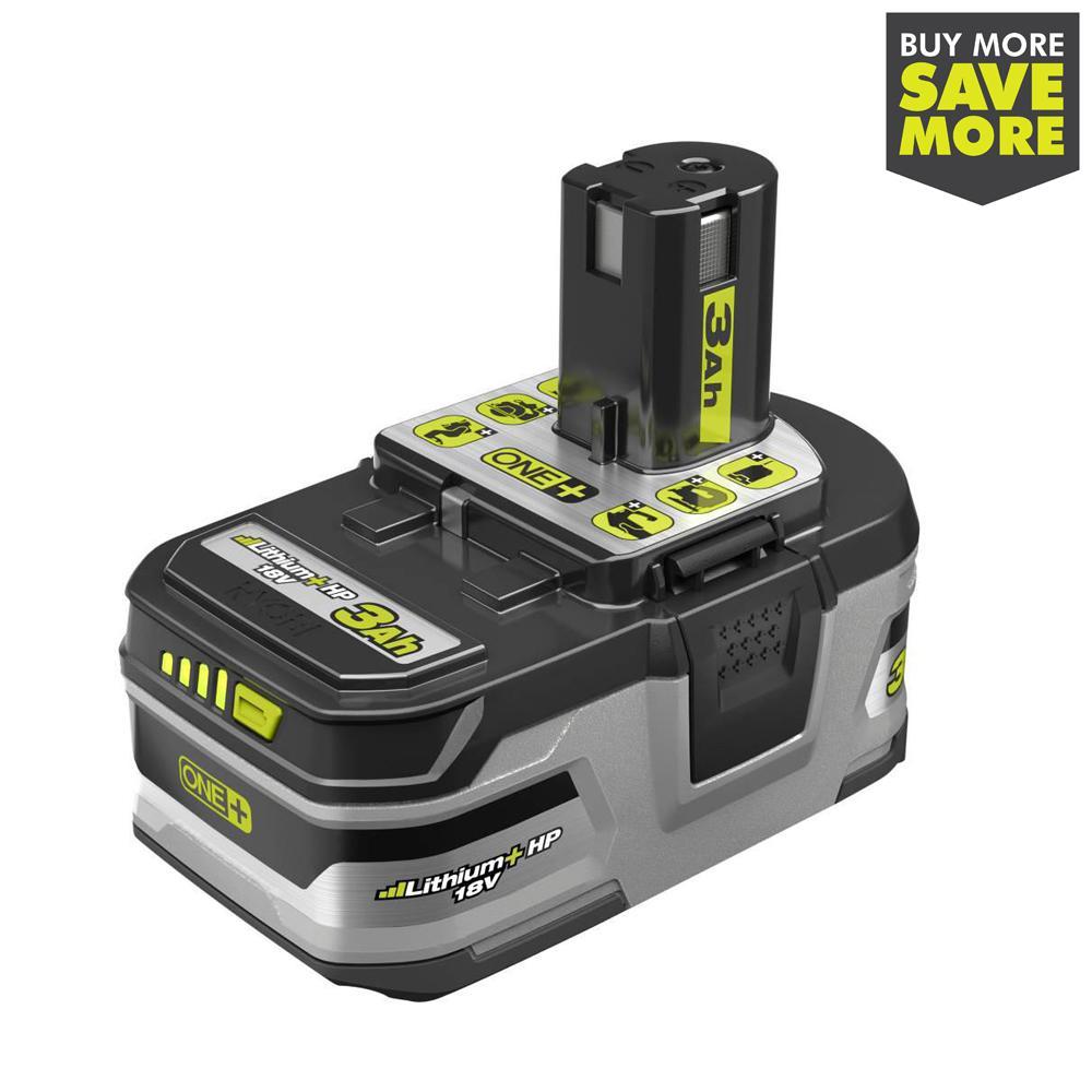 18-Volt ONE+ Lithium-Ion 3.0 Ah LITHIUM+ HP High Capacity Battery