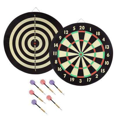 Hanging Tournament Sized Dart Board Set