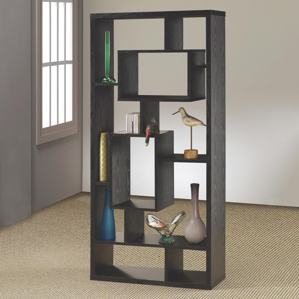 Lester Black Bookcase