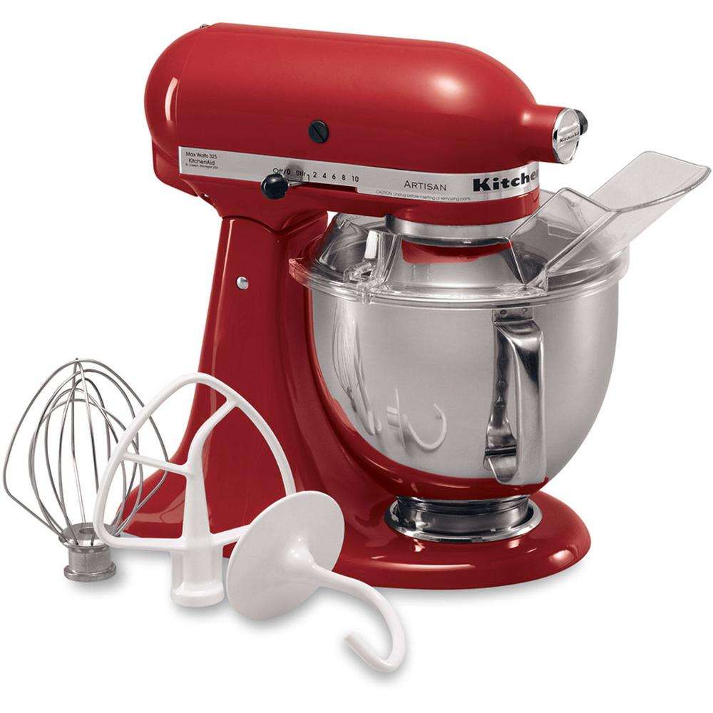 Kitchenaid Artisan Designer 5 Qt Truffle Dust Stand Mixer Ksm155gbtd The Home Depot
