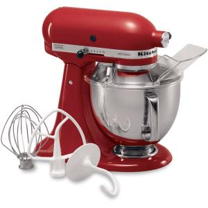 Click here to buy KitchenAid Artisan 5 Qt. Empire Red Stand Mixer by KitchenAid.