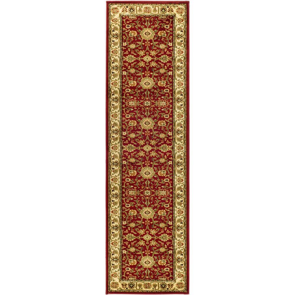 Lyndhurst Red/Ivory 2 ft. 3 in. x 14 ft. Runner