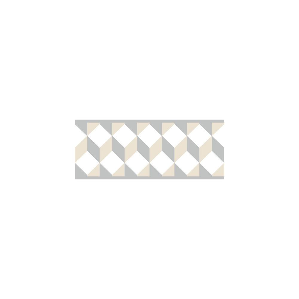 Escher Border beige/gray Wallpaper Border