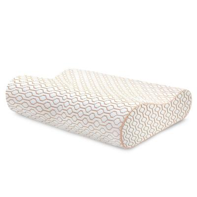 Copper Infused Memory Foam Oversized Contour Bed Pillow