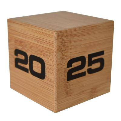 Time Cube Bamboo Preset Timer with 5-10-20-25 Minutes