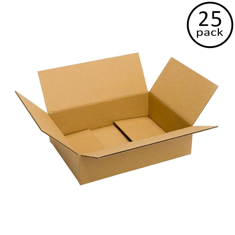 16 in. x 12 in. x 4 in. 25-Box Bundle