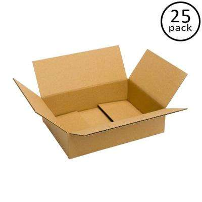 16 in. x 12 in. x 4 in. 25 Moving Box Bundle