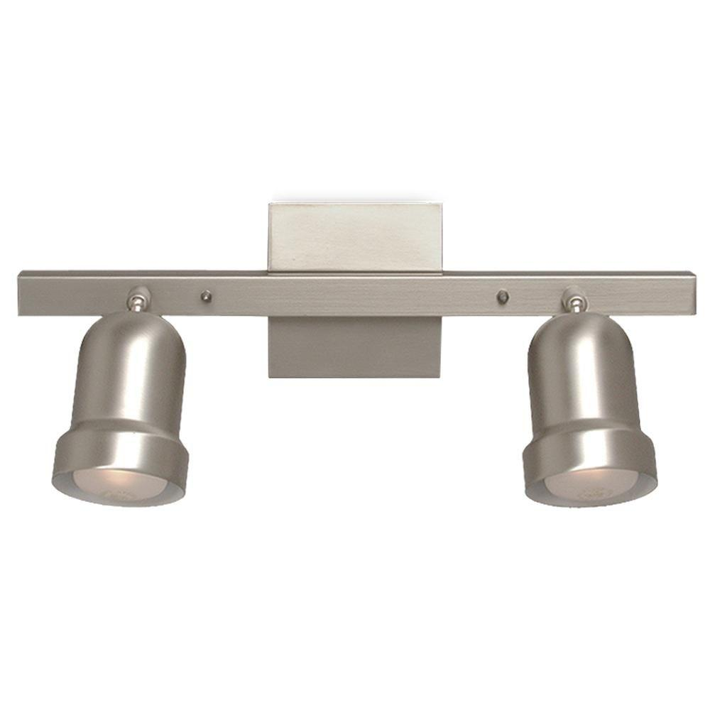 Filament Design Negron 2-Light Pewter Track Lighting with Directional Heads
