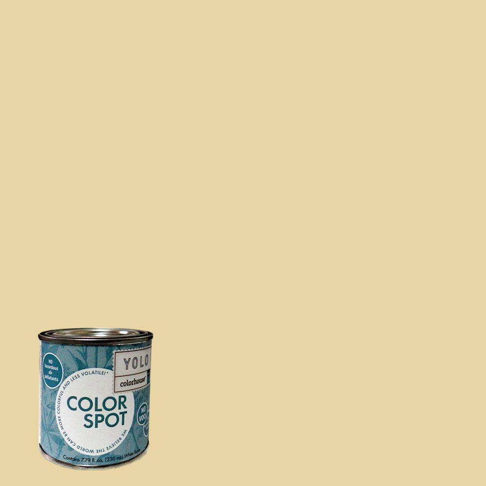 YOLO Colorhouse 8 oz. Stone .01 ColorSpot Eggshell Interior Paint Sample-DISCONTINUED