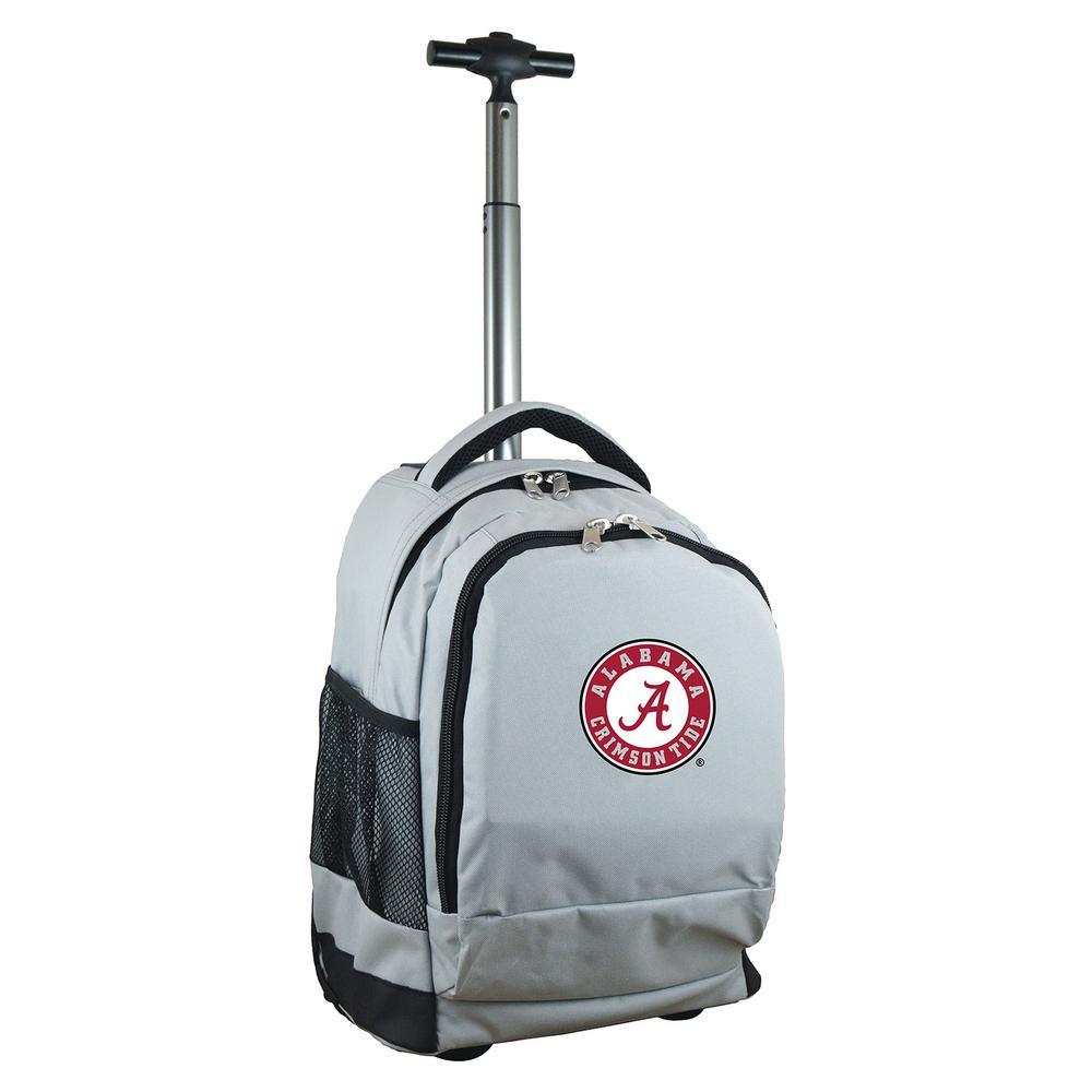 Ncaa Alabama 19 in. Gray Wheeled Premium Backpack