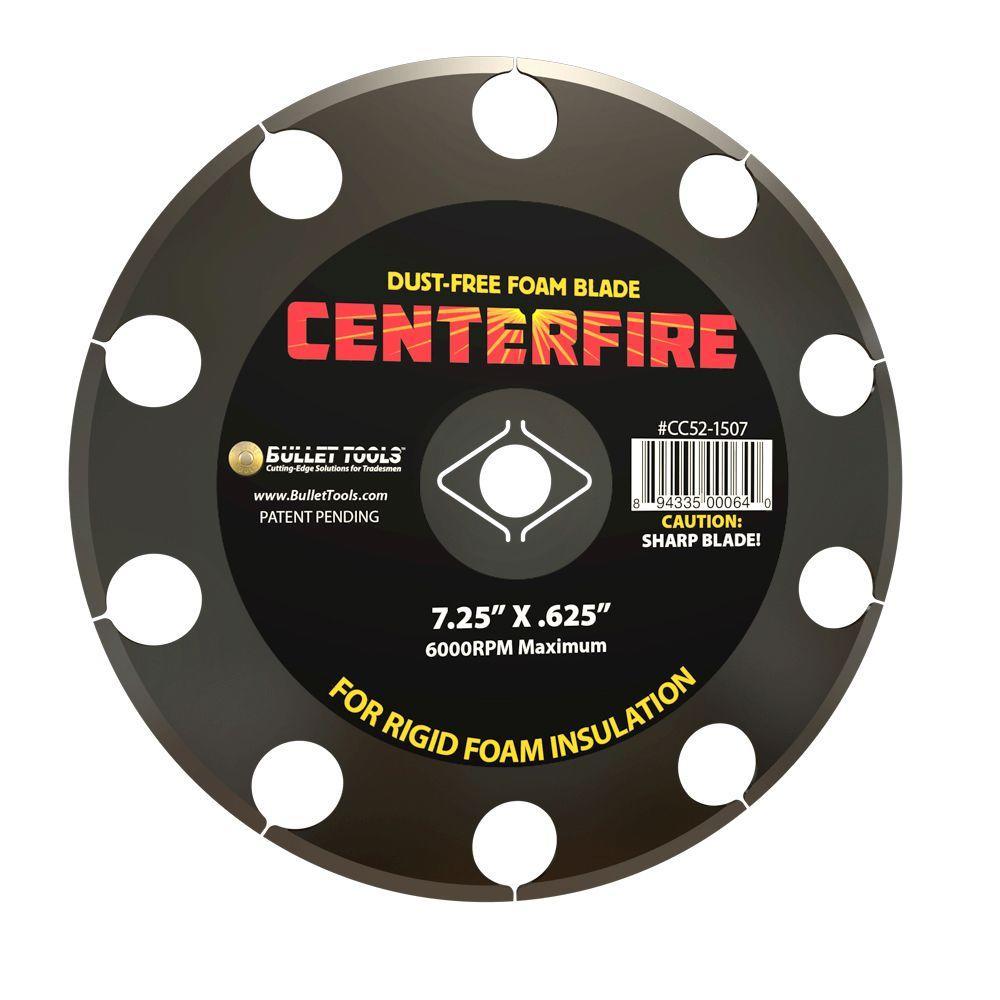 7.25 in. CenterFire Foam Cutting Blade
