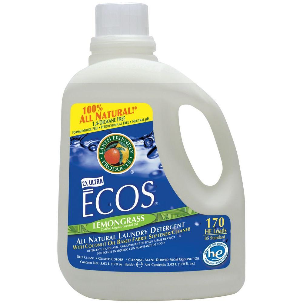 170 oz. Lemongrass Scented Liquid Laundry Detergent