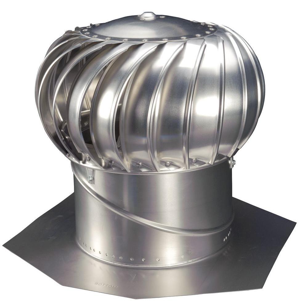 12 in. Mill Finish Aluminum Internally Braced Wind Turbine