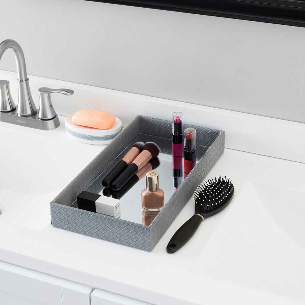 Home Basics Black Decorative Tray was $34.8 now $17.8 (49.0% off)