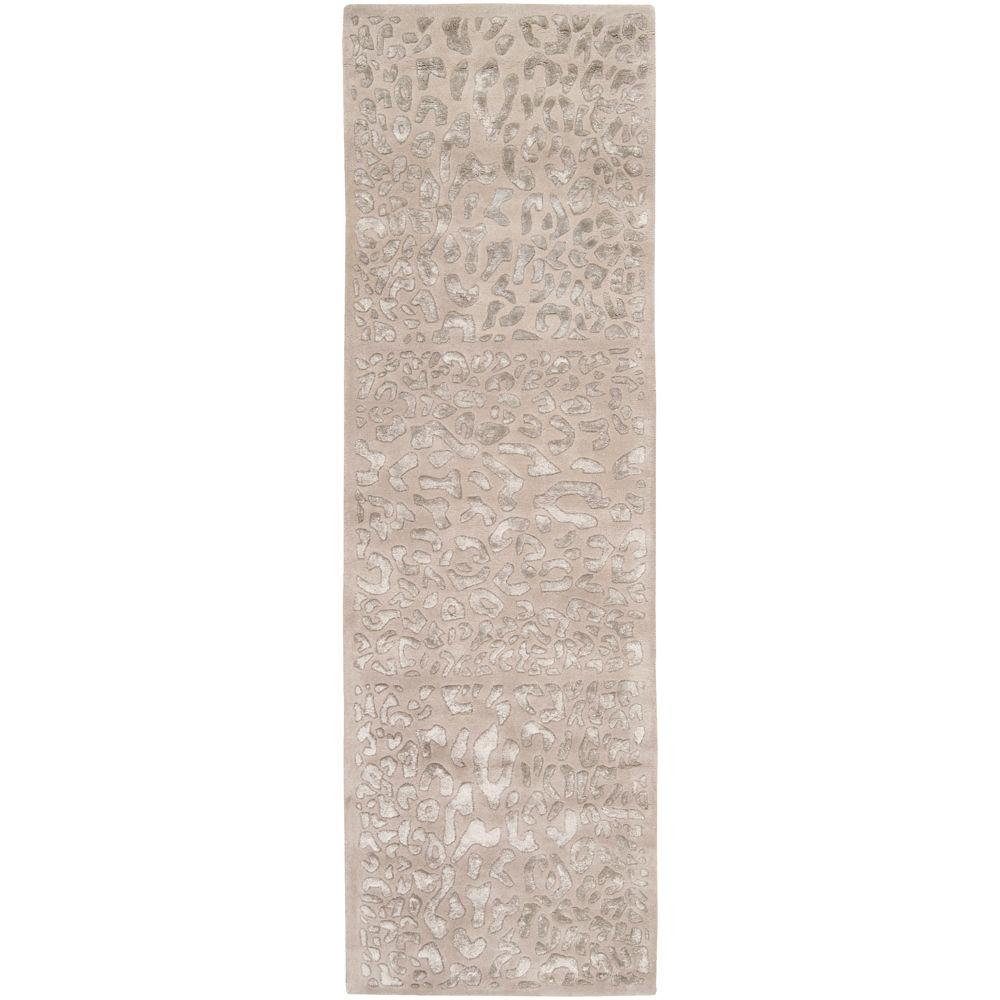 Surya Candice Olson Taupe 2 ft. 6in. x 8 ft. Runner