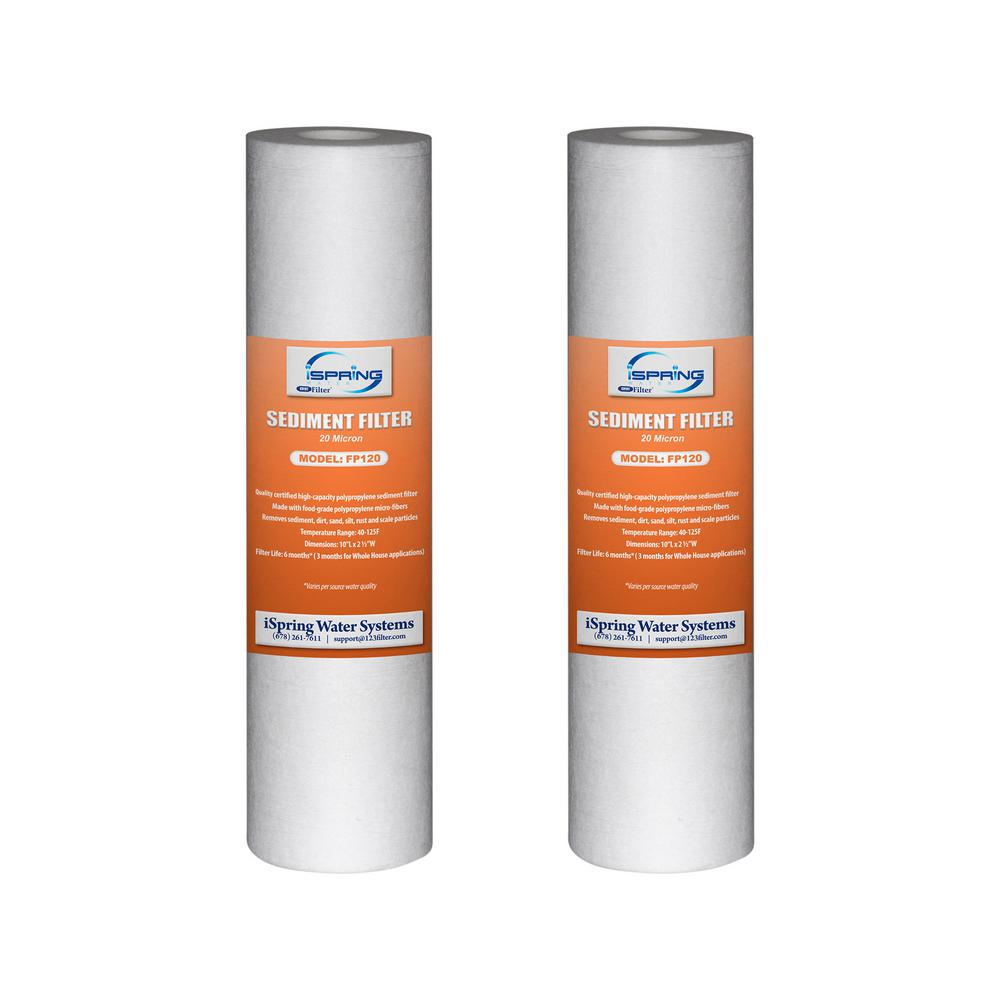 Ispring 20 Micron 10 In X 2 5 In Universal Sediment