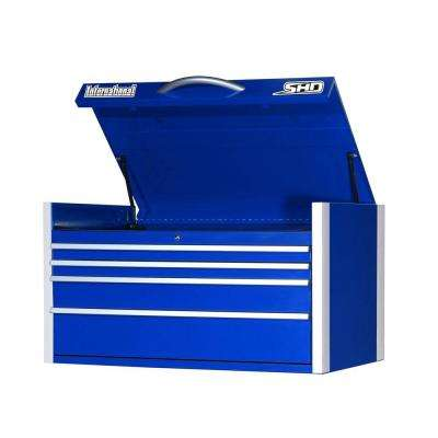 SHD Series 42 in. 4-Drawer Top Chest, Blue