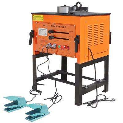 1.25 in. 3000W Electric Rebar Bender with stand