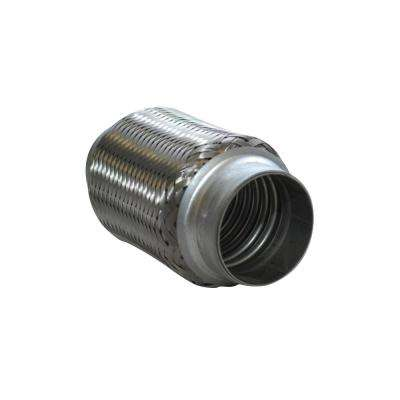SS Flex Coupling without Inner Liner 3in inlet/outlet x 6in long