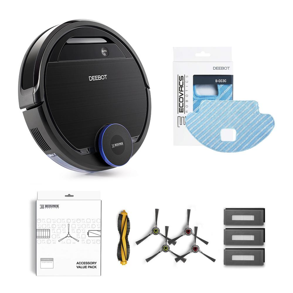 Ecovacs Deebot Ozmo 930 Robotic Vacuum And Mop Cleaner