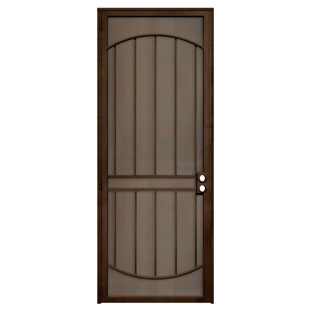 Unique home designs 36 in x 96 in arcada copper surface - Unique home designs security screen doors ...