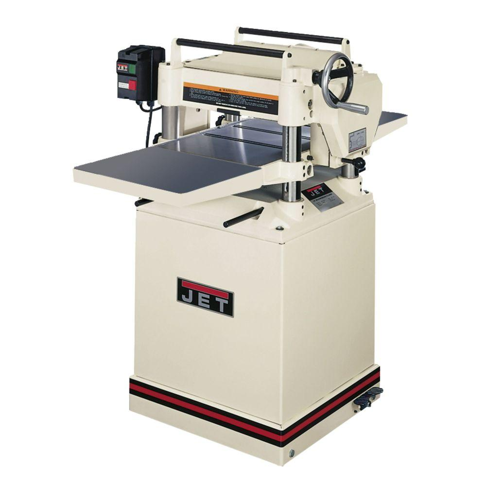 230-Volt JWP-15HH 3 HP 15 in. Industrial Woodworking Helical Head Thickness