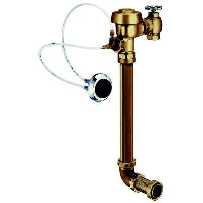 Concealed Hydraulically Operated High Efficiency Water Closet Flushometer, for Wall Hung Concealed Back Spud Bowls