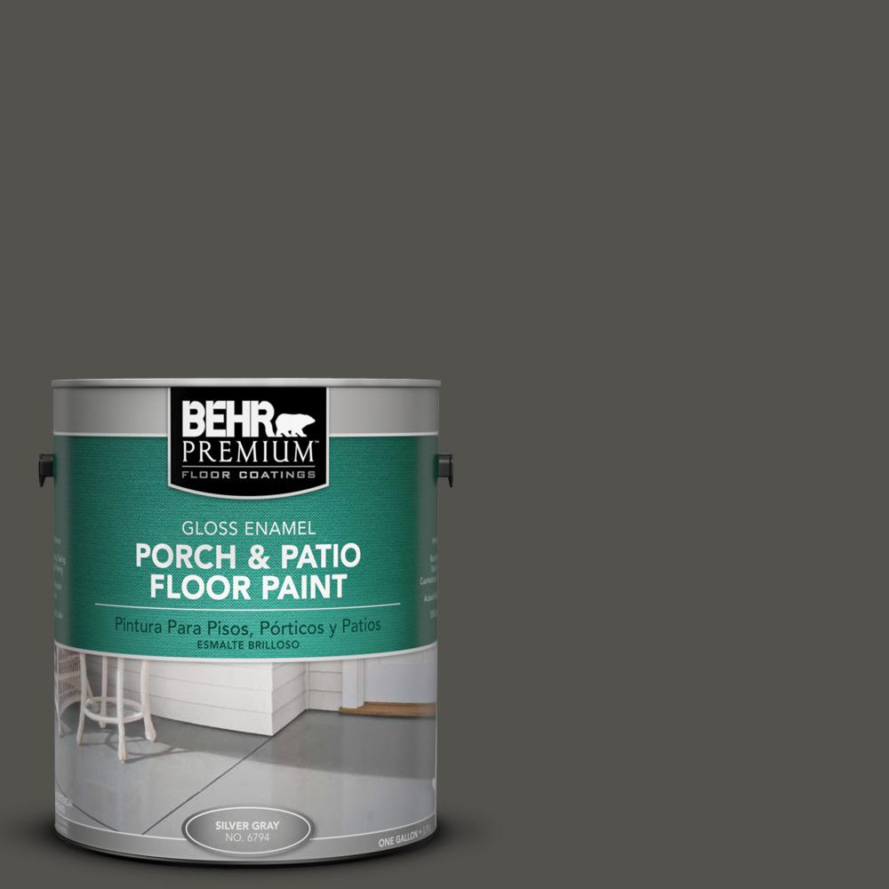 1 gal. #790D-7 Black Bean Gloss Porch and Patio Floor Paint