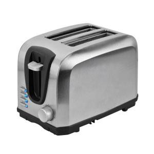 2-Slice Stainless Steel Toaster with Crumb Tray and Automatic Shut-Off