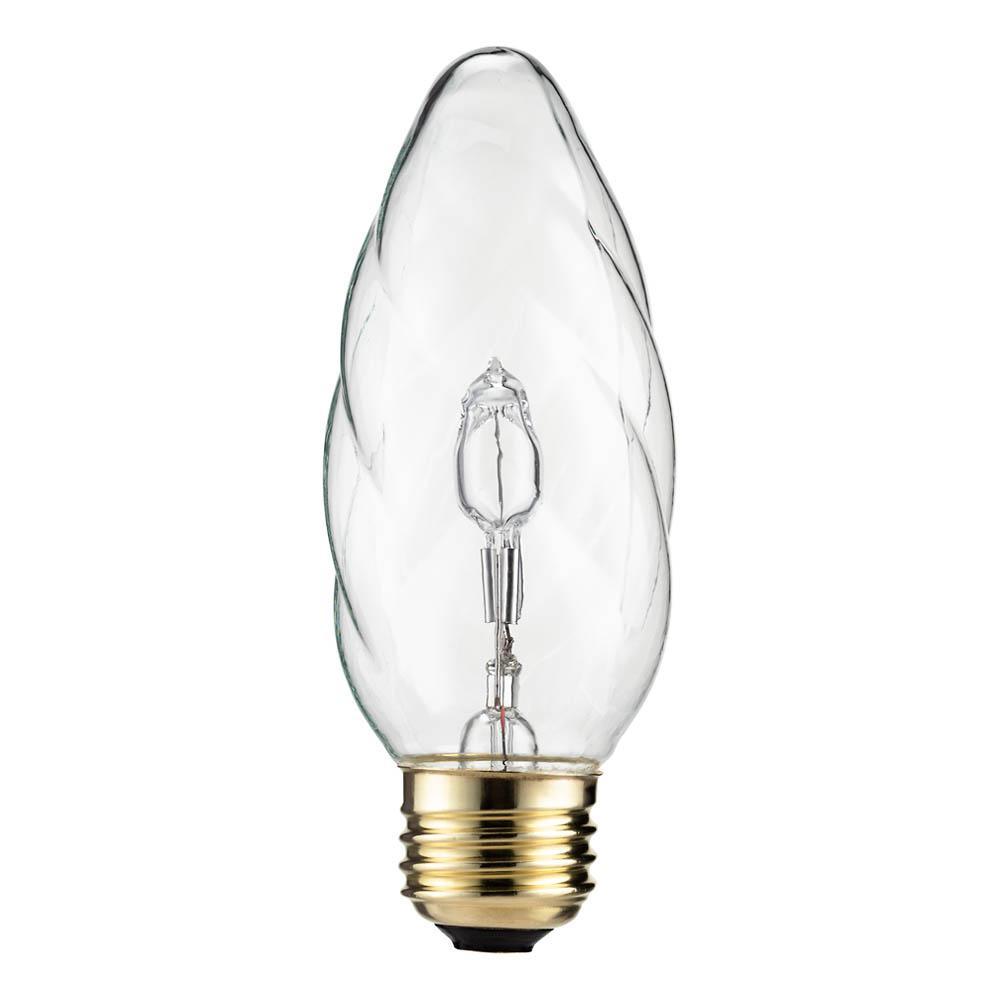 60-Watt Equivalent Halogen F15 Post Light Bulb