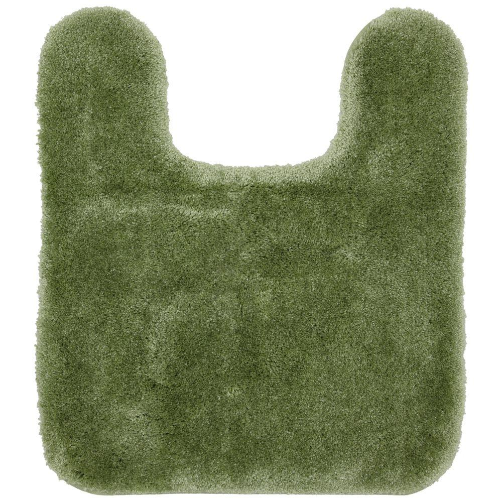 Mohawk Home Regency Sage Green 1 ft. 9 in. x 2 ft. in. Bath Contour Rug-DISCONTINUED