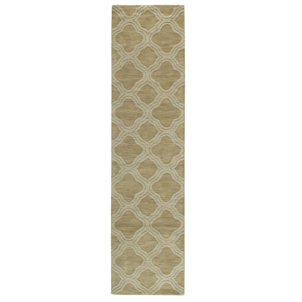 Home Decorators Collection Morocco Sage 2 ft. 6 in. x 10 ft. Rug Runner