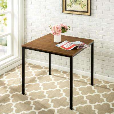 Modern Studio Collection Brown Soho Square Table