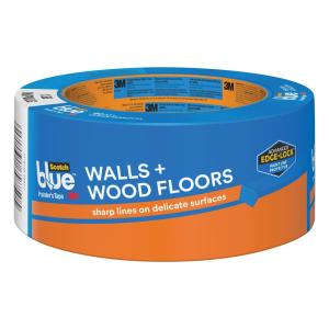 ScotchBlue 1.88 in. x 60 yds. Walls and Wood Floors Painter's Tape with Edge-Lock