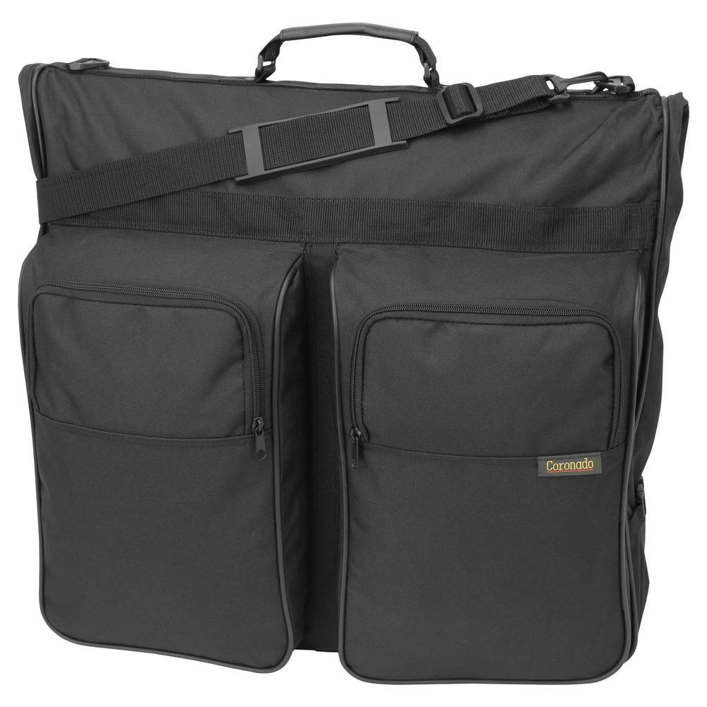 Mercury Luggage 46 in. Coronado Garment Bag Black