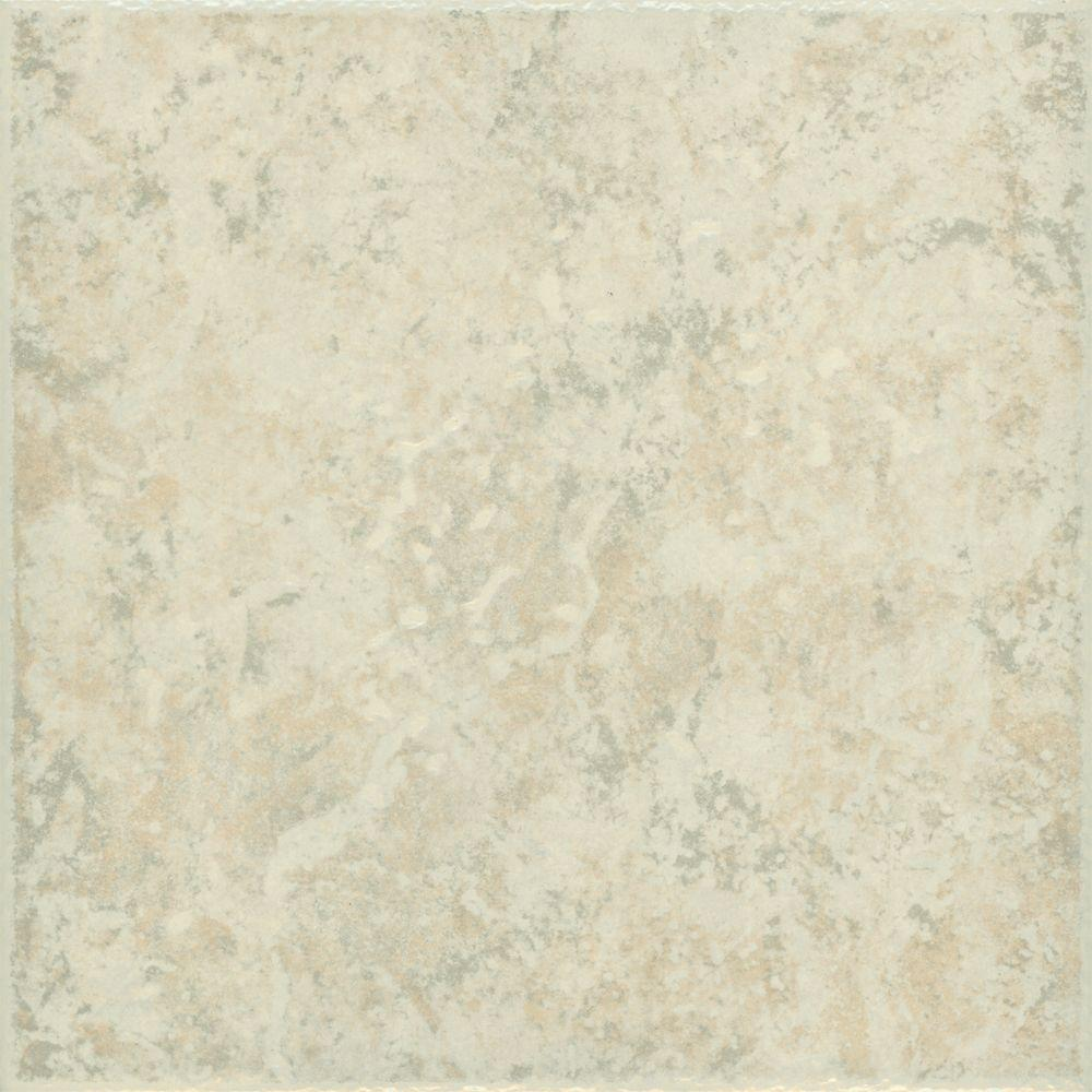 Tampa 15-3/4 in. x 15-3/4 in. Gray Ceramic Floor Tile (14.16