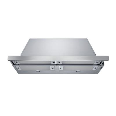 500 Series 36 in. Pull-Out Range Hood with Lights in Stainless Steel
