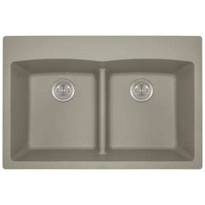 5 Hole Equal Double Bowl Kitchen Sink