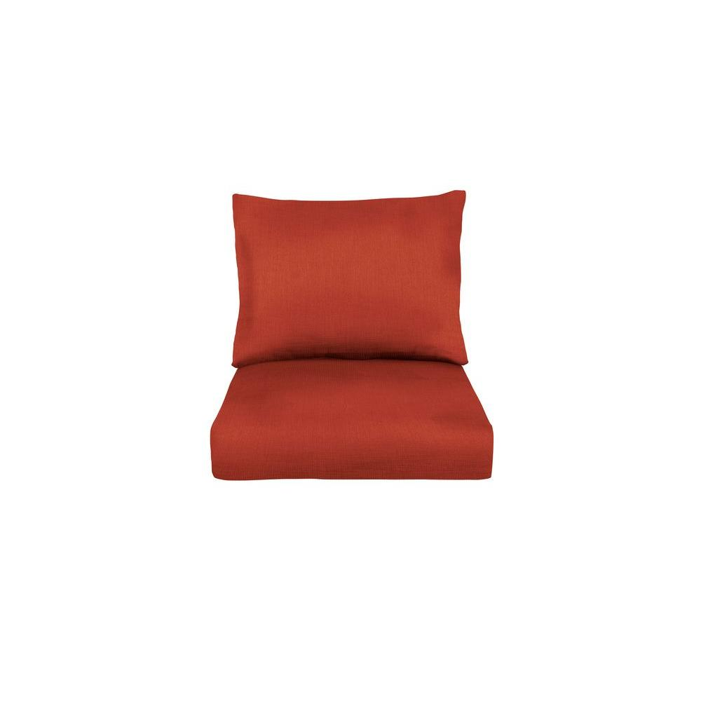 Marquis Replacement Outdoor Lounge Chair Cushion in Cinnabar