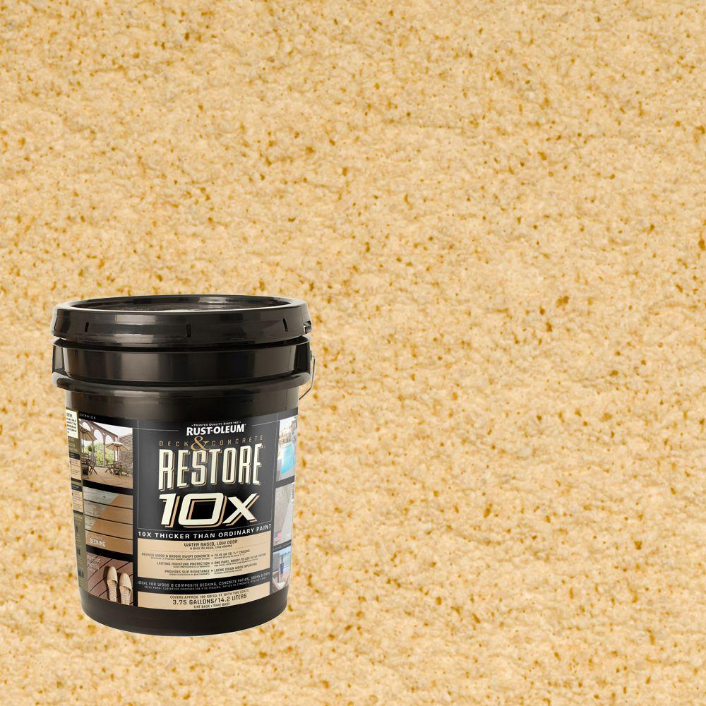 Rust-Oleum Restore 4-gal. Hacienda Deck and Concrete 10X Resurfacer