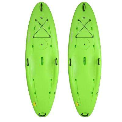 10 ft. Traverse Paddle Boards in Lime (Pack of 2)