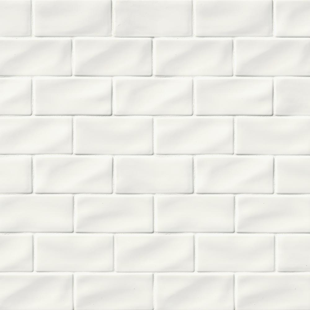 Handcrafted Glossy Ceramic Wall