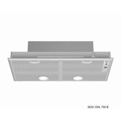 500 Series 30 in. Custom Insert Range Hood with Lights in Stainless Steel