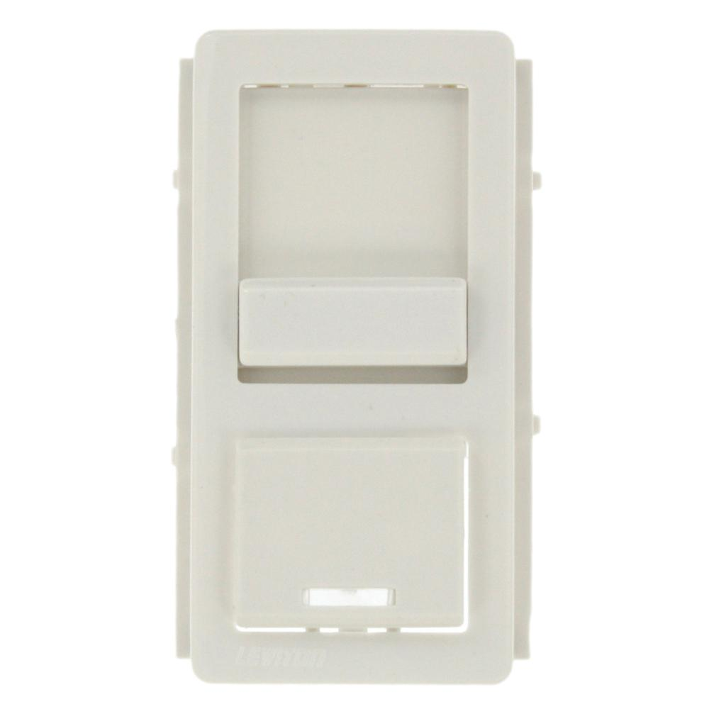 Color Change Face for Decora Dimmer, White
