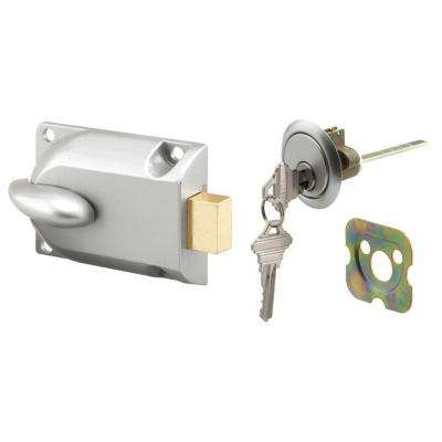 Aluminum Painted Center Mount Deadbolt Lock with Key Cylinder