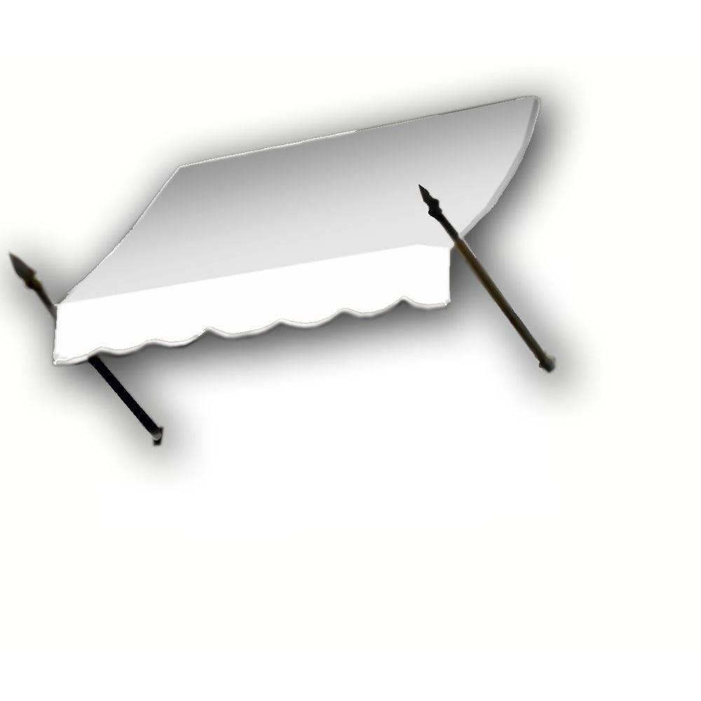 AWNTECH 12 ft. New Orleans Awning (31 in. H x 16 in. D) in OffinWhite