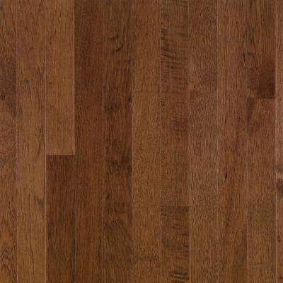 Plymouth Brown Hickory 3/4 in. Thick x 2-1/4 in. Wide x Varying Length Solid Hardwood Flooring (20 sq. ft. / case)